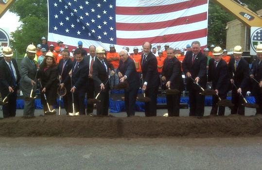 Second trans-Hudson rail tunnel groundbreaking