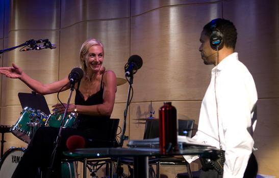 Ute Lemper speaks with Terrance McKnight