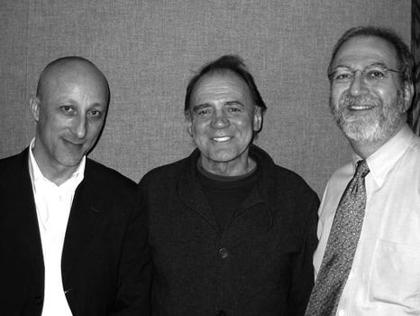 Director Oliver Hirschbiegel, actor Bruno Ganz and Leonard Lopate, 2005.