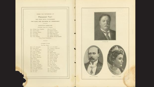 President Taft and the Duke and Duchess of Connaught.