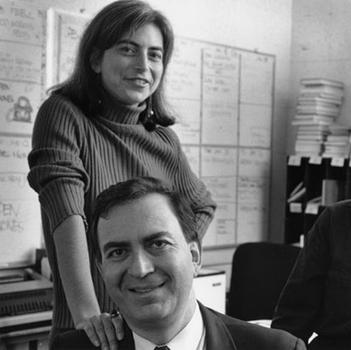 New York & Company Executive Producer Melissa Eagan with Leonard in 1990.