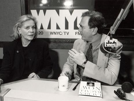 Lauren Bacall in the studio with Leonard to talk about about her book Now, December 29th, 1994.