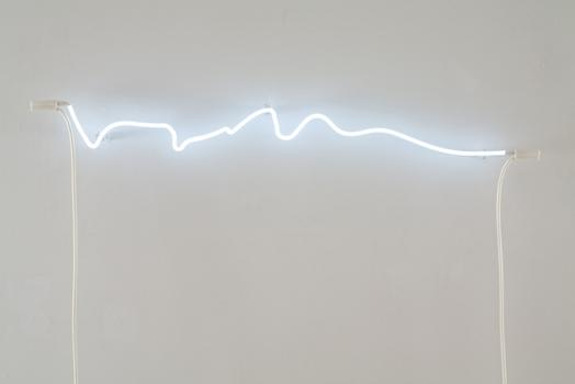 RH Gallery in Tribeca is opening two new exhibits, including a solo show of pieces by Soledad Arias. Seen above: 'Phonetic Neon [aha],' from 2011.