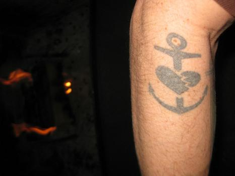 Bill's Bouncing Souls Tatts (1 of 3)