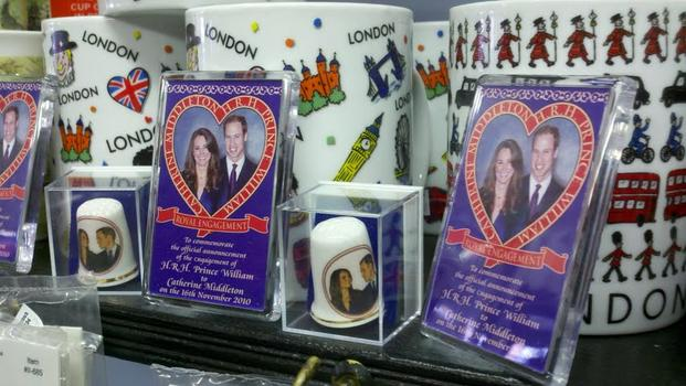 Myers of Keswick sold out of nearly all of its wedding paraphernalia by early this week.