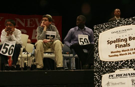 Contestants wait their turn