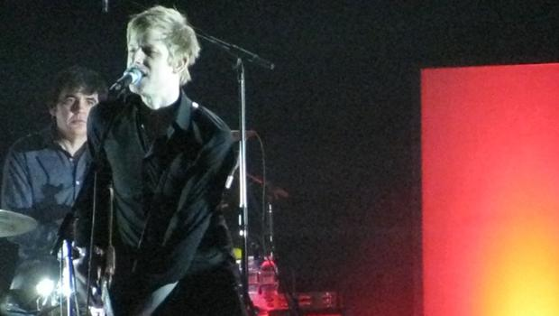 Spoon performed at Radio City Music Hall on March 26.
