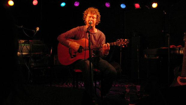 The Swell Season performing at Southpaw in 2006.