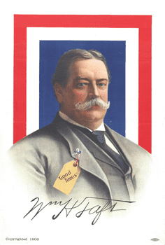 1908 Taft Presidential Campaign Poster