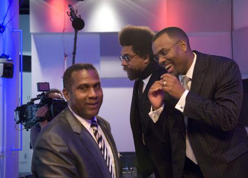 Tavis Smiley, Dr. Cornel West and Dr. Eddie Glaude