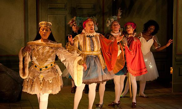 """A Target Margin production of """"The Tempest,"""" which was performed at HERE Arts Center in 2011."""
