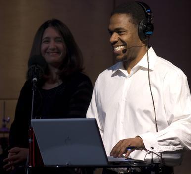 Host Terrance McKnight