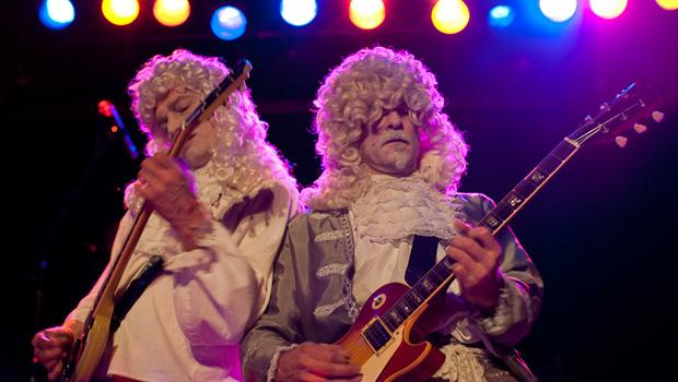 The Upper Crust performed at the Bowery Ballroom on the LES on March 12.