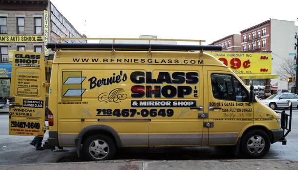 Bernie's truck.