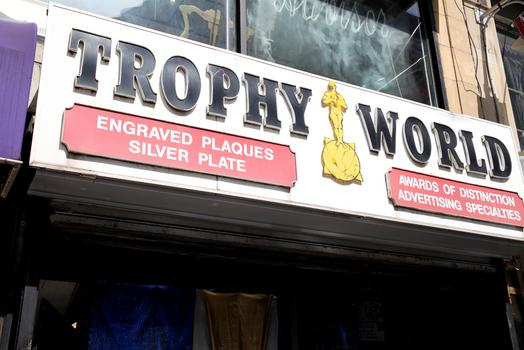 Trophy World on Livingston Street in Downtown Brooklyn.
