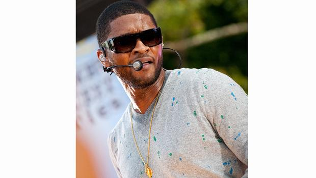 Usher performs at Good Morning America's Summer Concert Series in Central Park on August 20.