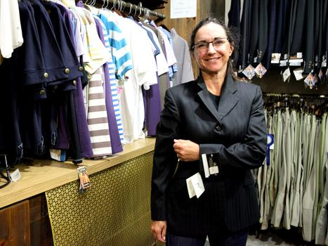 Vivian Franza, who lives in Buenos Aires, comes to Manhattan Saddlery every time she's in New York.