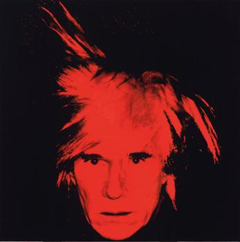 "Warhol's ""Self-Portrait"" signed by the artist on 1986 is expected to sell at Christie's for up to $40 million."