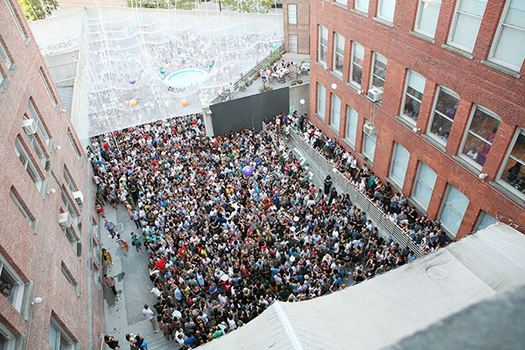 In Long Island City, get ready for some summer grooving (and incredibly long beer lines) as MoMA PS1's Saturday 'Warm Up!' series gets rolling again.