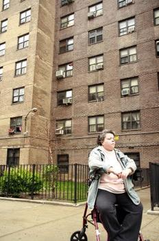 Disabled resident of NYCHA Chelsea Houses
