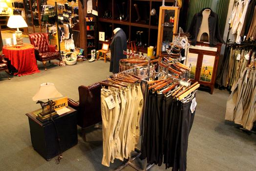 Manhattan Saddlery epitomizes the equestrian look.