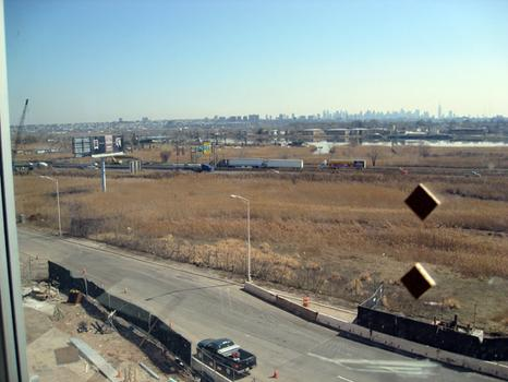 Overlooking the Hackensack River