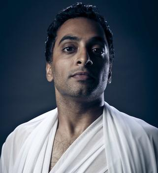 Manu Narayan as Yeast, looking defiant.