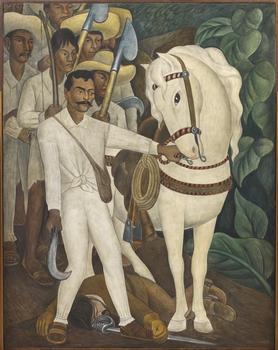 Diego Rivera. Agrarian Leader Zapata, 1931.