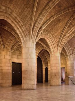 Entrance vaults at the Riverside Church in Manhattan by the Guastavino Company.