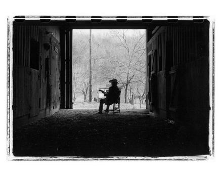 Bill Monroe, Last Winter, 1995. Archival pigment print.