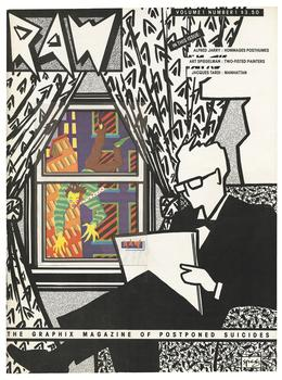 Art Spiegelman, cover for RAW no. 1: The Graphix Magazine of Postponed Suicides,  1980.