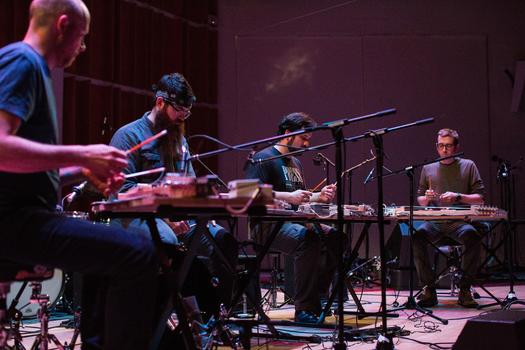 So Percussion & Buke and Gase perform at the Ecstatic Music Festival on March 26, 2014