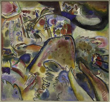 Vasily Kandinsky (Moscow 1866-1944 Neuilly-sur-Seine) Small Pleasures, June 1913.