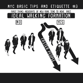 From NYC Basic Tips and Etiquette by Nathan W. Pyle (Courtesy of HarperCollins Publishers)