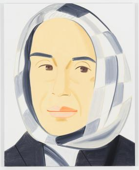 Alex Katz, Ada, Oil on linen (2012)