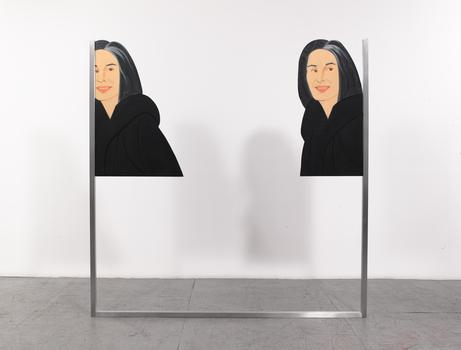 Alex Katz, Ada 1 [Double], Oil on linen (2013)