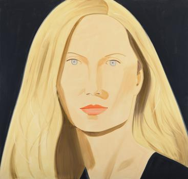Alex Katz, Lisa, Oil on linen (2011)