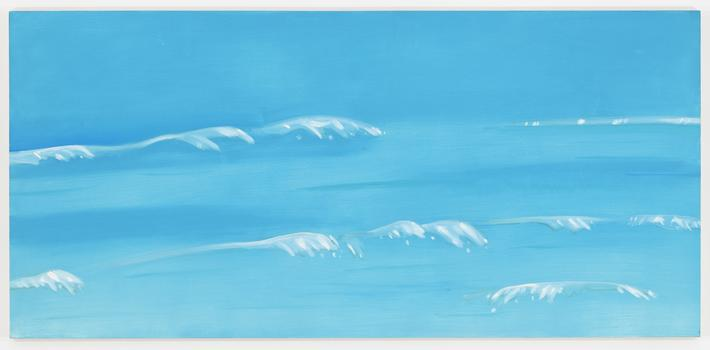 Alex Katz, Marine 7, Oil on linen (1999)