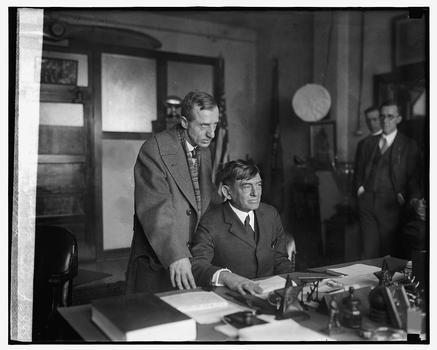 General Butler and General Lejeune, December 28, 1925.