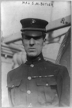 Major Smedley D. Butler in 1910.