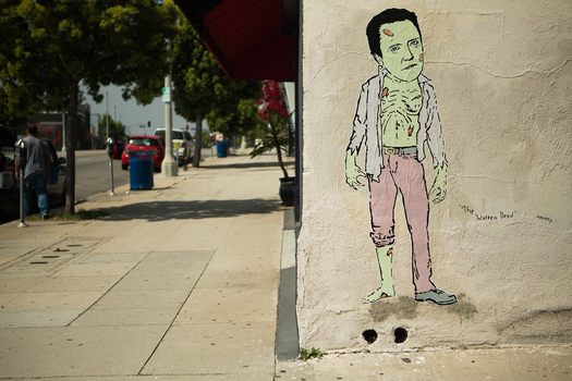 The Walken Dead. Pico & Spaulding, Los Angeles
