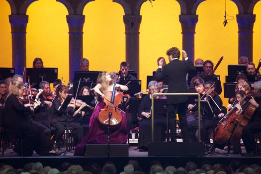 The concert caps a week-long residency at the Caramoor festival by Alisa Weilerstein.