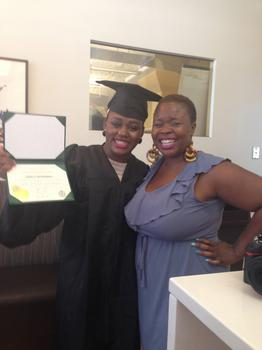 Radio Rookies Graduates Danielle Motindabeka and Veralyn Williams
