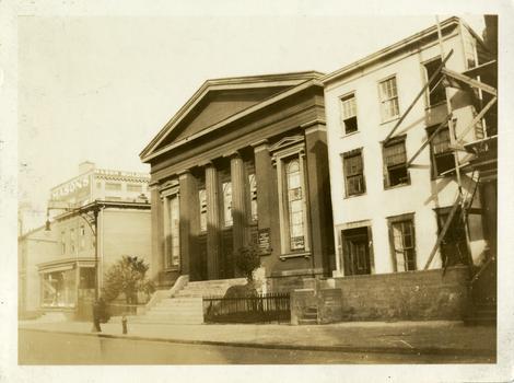 Bridge Street AWME Church, Brooklyn's oldest black church, circa 1923.