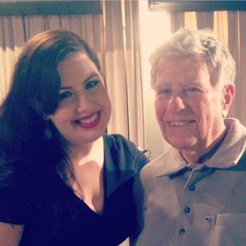soprano Marina Harris and YAS host Bob Sherman