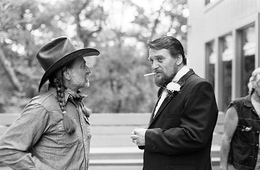 Willie and Waylon, 1985. Archival pigment print.