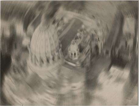 """Descending over San Pietro,"" a print made by Filippo Masoero between 1927-1937."