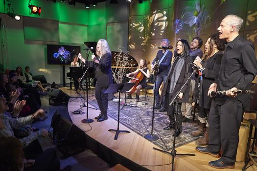 Spinning On Earth in The Greene Space with Jesse Paris Smith, Patti Smith, Rebecca Foon, and others