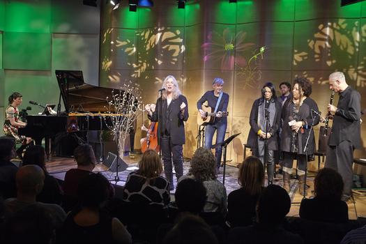 Spinning On Earth in The Greene Space with Jesse Paris Smith, Patti Smith, Tony Shanahan, and others