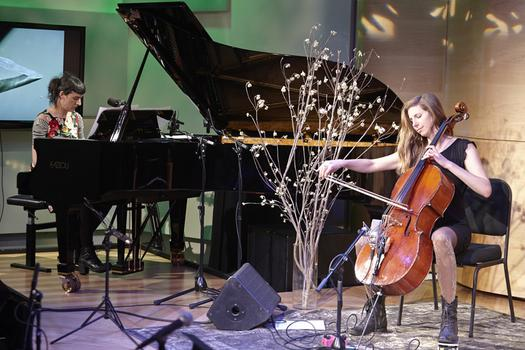 Spinning On Earth in The Greene Space with Jesse Paris Smith and Rebecca Foon